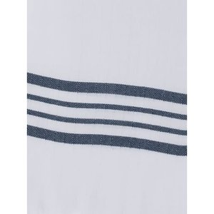 Lalay gevoerde hamam badjas Nijl white navy