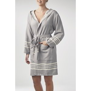 Lalay hamam badjas Sun light grey