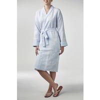 hamam badjas lichtblauw S/M