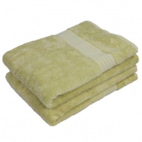 Hamams own bamboe sauna handdoek lichtgroen