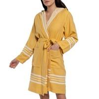 hamam badjas Sun mustard yellow
