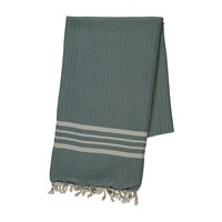 hamamdoek Krem Sultan almond green
