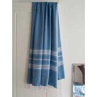 hamamdoek XL oceaanblauw