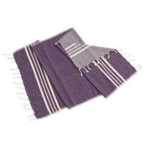 Lalay gastendoek Krem Sultan dark purple