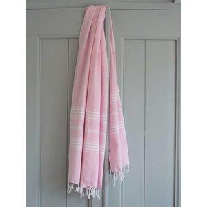 Ottomania hamamdoek XL roze