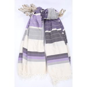 Call it Fouta! hamamdoek XXL Saint Tropez purple multi