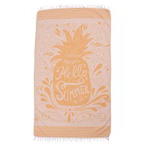 Call it Fouta! hamamdoek Hello Summer orange