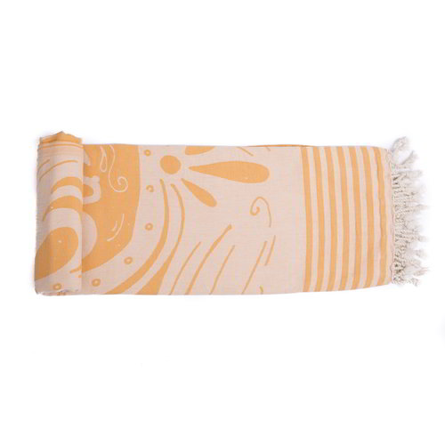 Call it Fouta! hamamdoek Hello Summer orange