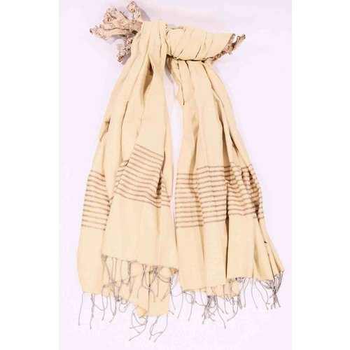Call it Fouta! hamamdoek XXL Saint Tropez beige gold