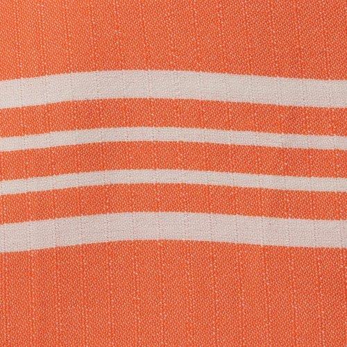 Lalay hamamdoek Krem Sultan XXL oranje 220x170cm