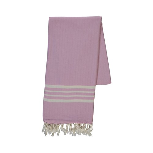 Lalay hamamdoek Krem Sultan XXL pink