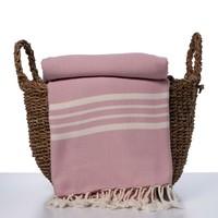 hamamdoek Krem Sultan XXL rose pink