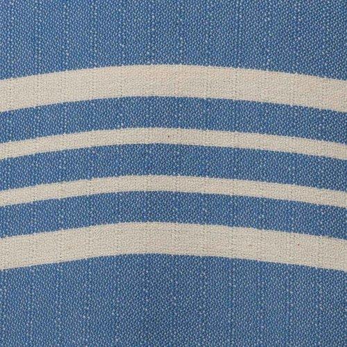 Lalay hamamdoek Krem Sultan XXL blue