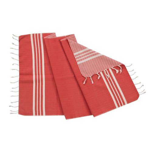 Lalay gastendoek Krem Sultan red