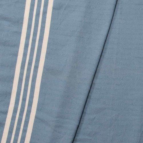 Lalay gastendoek Krem Sultan air blue
