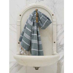 Ottomania hamam handdoek dennegroen