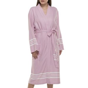 Lalay hamam badjas Krem Sultan rose pink