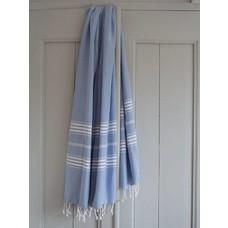 Ottomania hamamdoek XL blauw