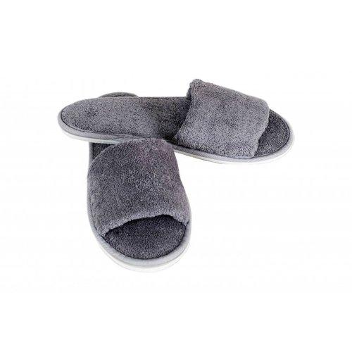 Hamams own open sauna slippers grijs