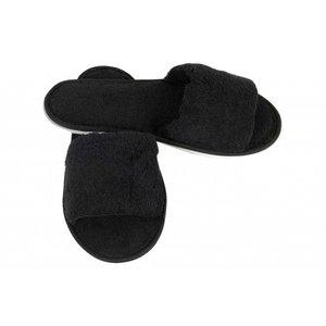 Hamams own open sauna slippers zwart