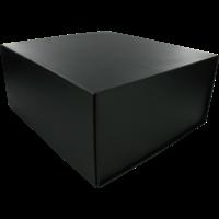 Cadeauverpakking - magneetdoos zwart 23x20x10