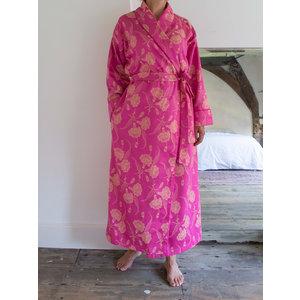 Ottomania elegante kamerjas roze