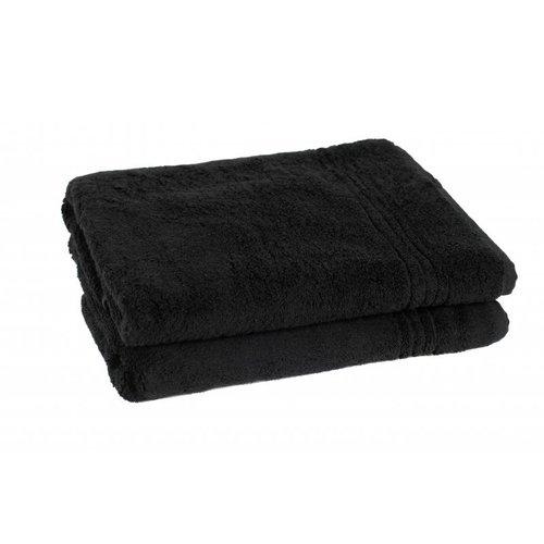 Hamams own bamboe sauna handdoek zwart