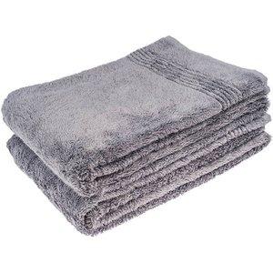 Hamams own bamboe sauna handdoek grijs