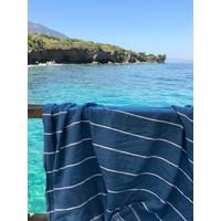 hammam strandlaken oceaanblauw