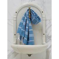 hamam handdoek oceaanblauw