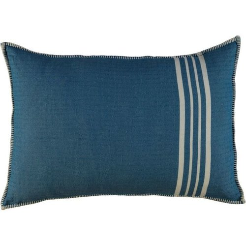 Lalay Kussenhoes 50x70 Krem Sultan blue petrol