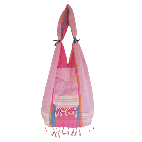 Hamams own Kikoy beach bag pink