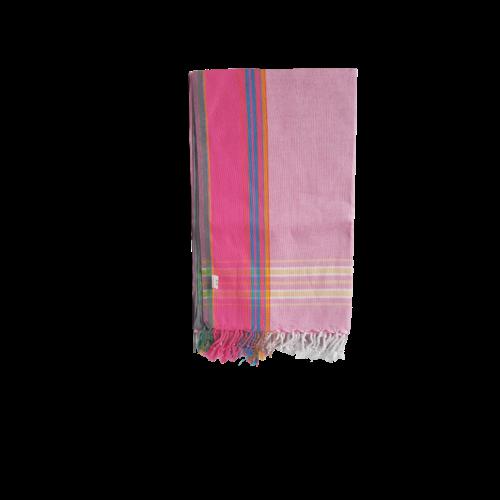 Hamams own kikoy handdoek pink multi