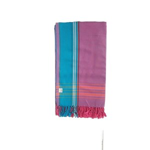 Hamams own kikoy handdoek purple pink