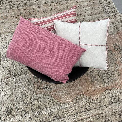 Lalay Kussenhoes Karakiz 80x25 dusty rose