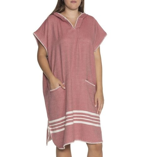Lalay strandponcho Sultan dusty rose