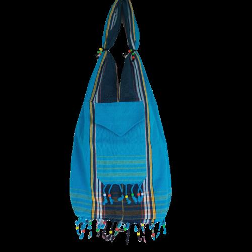 Hamams own Kikoy beach bag blue