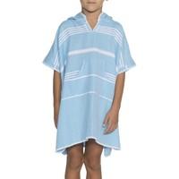 kids zwemponcho Leyla turquoise