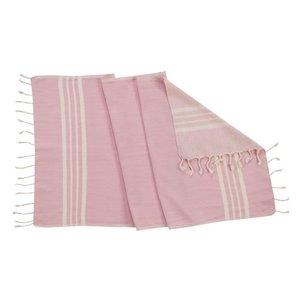 Lalay kleine hamamdoek Krem Sultan rose pink