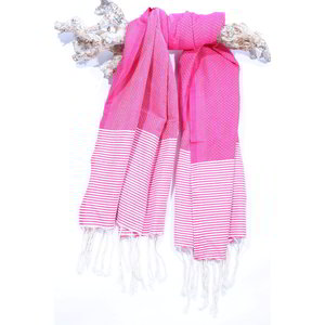 Call it Fouta! hamamdoek Fines candy pink
