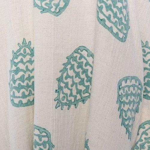 Lalay strandtuniek hand printed mint