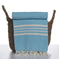 hamamdoek Krem Sultan XXL turquoise