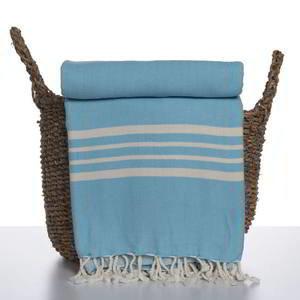 Lalay hamamdoek Krem Sultan XXL turquoise
