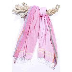 PURE Kenya kikoy XL strandlaken Bofo pink