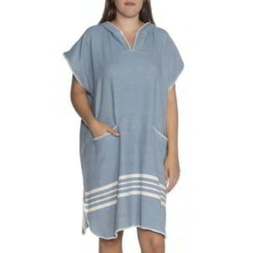 Lalay strandponcho Sultan air blue