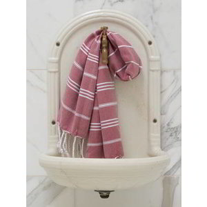 Ottomania hamam handdoek bordeaux