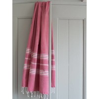 hamamdoek XL cerise