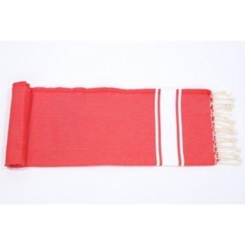 Call it Fouta! hamamdoek Robuste red