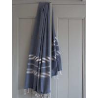 hamamdoek XL marineblauw