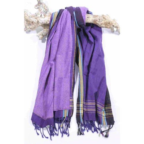 PURE Kenya kikoy strandlaken Giza purple